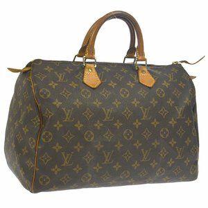Louis Vuitton Speedy 35 Hand Bag #6648L39B